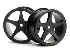 Vintage (Hpi 3691) 22mm Super Star Wheel Black 3mm Offset Yokomo Kyosho Tamiya
