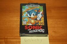 Sonic the Hedgehog (Sega Genesis) NEW SEALED, SUPER RARE 1996 VARIANT, NEAR-MINT