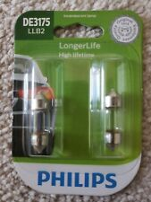 Philips  DE3175 LongerLife Miniature Bulb, 2-Pack DE3175LLB2