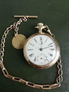 waltham pocket watch 18s