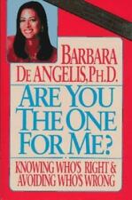 Are You the One For Me?, De Angelis, Barbara, Good Book