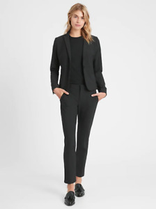 Banana Republic Womens Classic-Fit Washable Italian Blazer Size 2 Petite #267508
