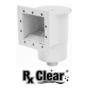 Rx Clear Standard Thru-Wall Skimmer w/ Return Fitting for Above Ground Pools