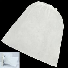 10 PCS Replacement Bags for Nail Art Dust Suction Collector White Useful Tool