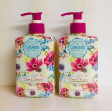 (2) Floral Bouquet Lavender  Premium Moisturizing Hand Soap 14 fl oz Each