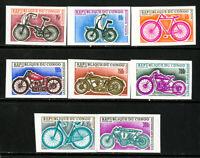 Congo Stamps # 183-90 VF OG NH Imp