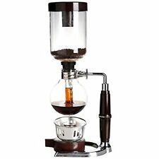 Unique Coffee Syphon Tabletop Siphon (Syphon) Coffee Maker 5-Cup! Easy to Clean!