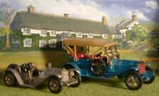 Matchbox. Yesteryear. Thomas Flyabout and 1913 Mercer Raceabout. Very Good.