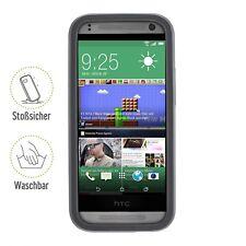 Caso Artwizz SeeJacket protectora de silicona HTC uno negro Mini 2 B-Stock
