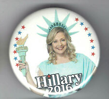 2016 pin HILLARY Clinton for PRESIDENT pinback STATUE of LIBERTY