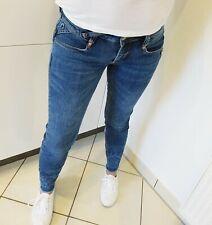 GANG Röhren Jeans NENA Cropped SKINNY W27 blau used super Zust