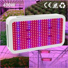 400W LED Grow Light Voll Spektrum Panel Lampe Blumen Gemüse Pflanzen Licht DE EU