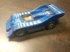 Vintage SIKU #1329 Porsche 917 Turbo Lader Blue 1:55 Diecast Model Car Replica