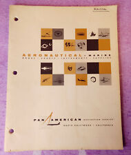 PAN AM Aeronautical Marine Supplies Catalog Pan American Navigation Service VTG