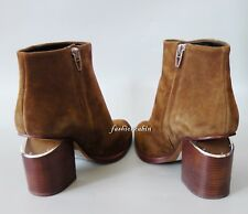 New ALEXANDER WANG Gabi Suede Ankle Boots Shoes, Truffle, EUR 38, retail $675