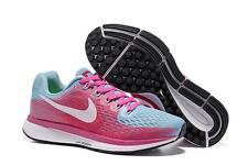 Nike Women's Air Zoom Pegasus 34 Gray/Pink/Blue Size 8.5 New