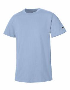 Champion T-Shirt Tee Short Sleeve Crew Neck Classic Jersey Tagless 100% Cotton