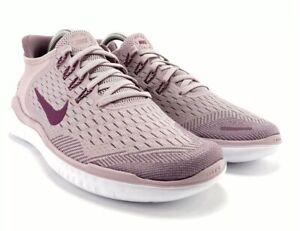 NWOB Women's Nike Free RN 2018 Running Shoes Plum Chalk 7.5, 8, 8.5, 9 MSRP $100