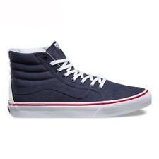 81361de618 VANS Sk8 Hi Slim Leather canvas Parisian Women s Shoes 9