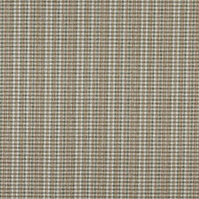 C646 Light Brown Green Ivory Small Plaid Country Upholstery Fabric By The Yard