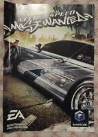 Nintendo Gamecube - Need for Speed Most Wanted (French manual only)