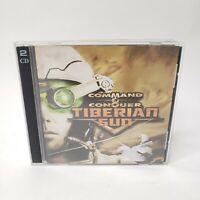 Command & Conquer: Tiberian Sun (PC, 1999) 2 CD Set