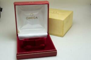 Omega Vintage Red Inner & Outer Wristwatch Box 1960 / 1970's