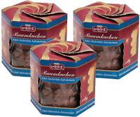 Lambertz 3x 300gr. Baumkuchen Edel Vollmilch  Schokolade 900g