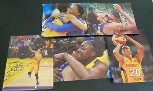 LOS ANGELES SPARKS Basketball WNBA Signed 8 x 10 Photo Lot of 5 Nneka Ogwumike +