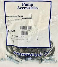 Grundfos 519602 Cast Iron 1 Npt Female Flange Dn 1526 Pn 12 1 Set New Sealed