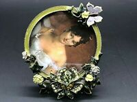 Beautiful Enameled Picture Frame Made with Swarovski Crystals