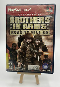 Brothers In Arms: Road To Hill 30 PlayStation 2 PS2 Complete Read Description
