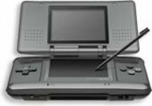 Nintendo DS Original NTR-001 Console Black w/ Charger Stylus pen Tested