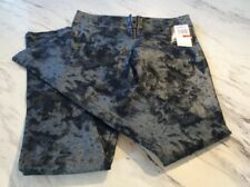 Members Only Ladies Indigo Silver Leggings NWT New Size XS