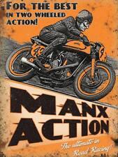 Azione MANX TT Road Racing Moto Bici Frigo Calamita