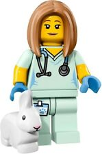 71018 Lego Veterinarian Collectible Minifigures CMF Series 17 (Brand New)