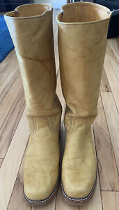Frye Campus Boots Made In USA 10 Hardly Worn Banana