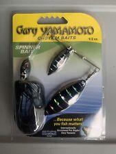 Gary Yamamoto Spinnerbait 1/2 OZ Black Bone