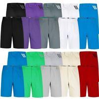 Adidas Men's Golf PureMotion Stretch 3-Stripes Shorts, Multiple Sizes/Colors