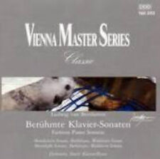 CD BEETHOVEN PIANO SONATAS Waldstein MOONLIGHT Pathetique ~ VIENNA MASTERSERIES