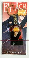 Bleach keyring Ichigo Kurosaki official anime key ring plate Authentic