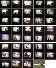 Normal 8mm-Privatfilm von 1964-Kindheit in Hamburg-Wohnung und Schlittenfahren