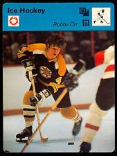 1977 SPORTSCASTER ICE HOCKEY BOBBY ORR NM BOSTON BRUINS HOF RARE MADE IN JAPAN