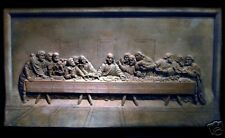 The Last Supper church art stone sculpture wall home decor relief christian icon