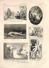 Beaux-Arts Paris Salon Peinture Mariage Franche-Comté Dagnan/Baudry GRAVURE 1882