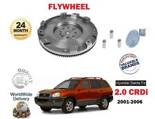 FOR HYUNDAI SANTA FE 2.0 CRDi D4 A 2001-5/2006 NEW CLUTCH SINGLE MASS FLYWHEEL