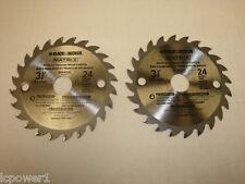 [B&D] [90585148] (2) Black & Decker Blades BDCMTTS Type 1 Trim Saw MultiTool