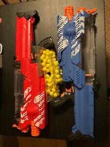 One Nerf Rival Nemesis MXVII-10K Motorized Gun Dart Ball Blaster