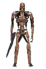 "Terminator 2 - 7"" Scale Figure - Kenner Tribute - Metal Mash Endoskeleton - NECA"