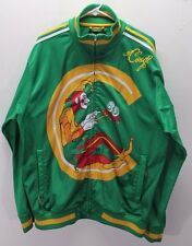 COOGI Jester Clown Track jacket coat HIP HOP Green Sweater notorious BIG XL 48